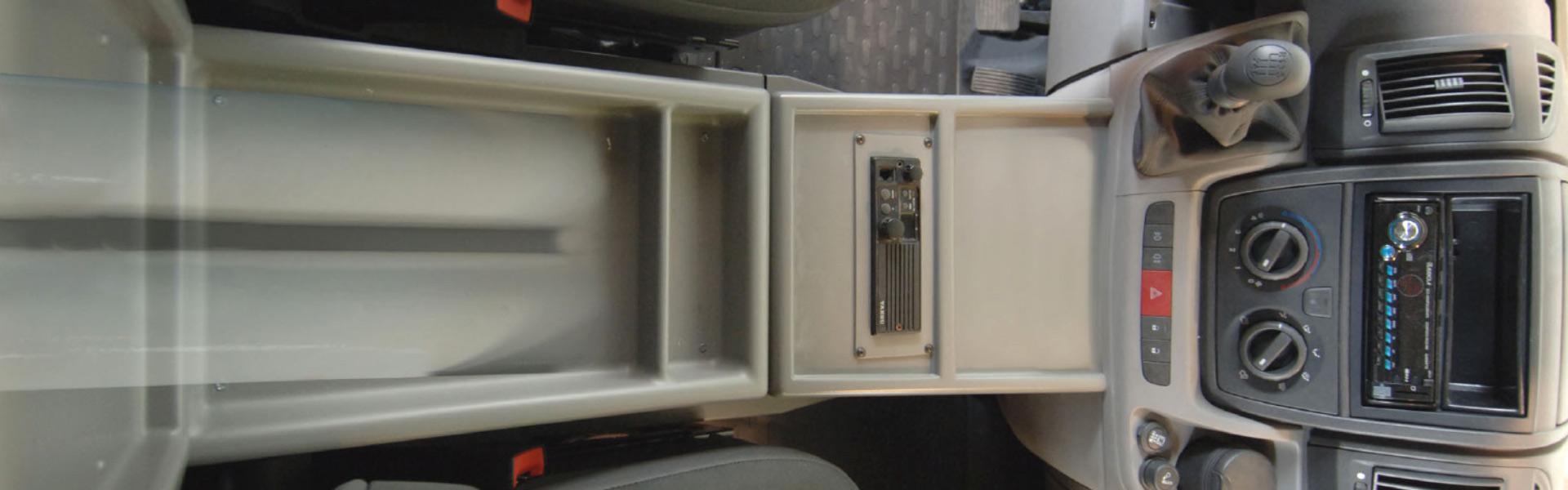 Oxygen tanks compartment