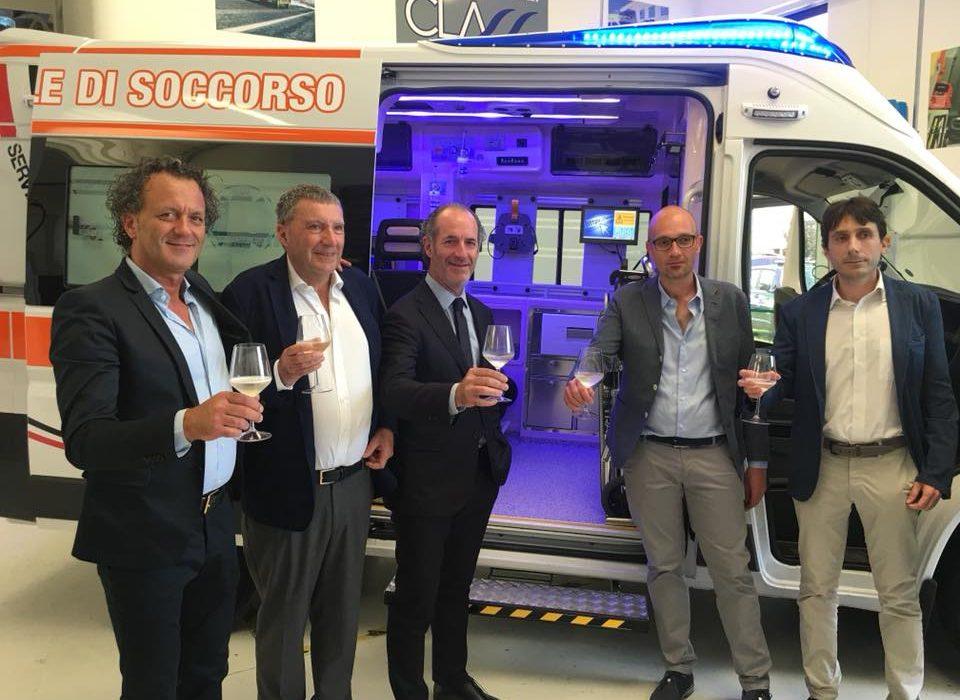 Inaugurato il nuovo stabilimento CLASS by Orion a Treviso