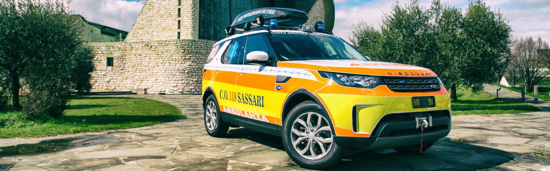 Ambulanze da trasporto per servizi sanitari