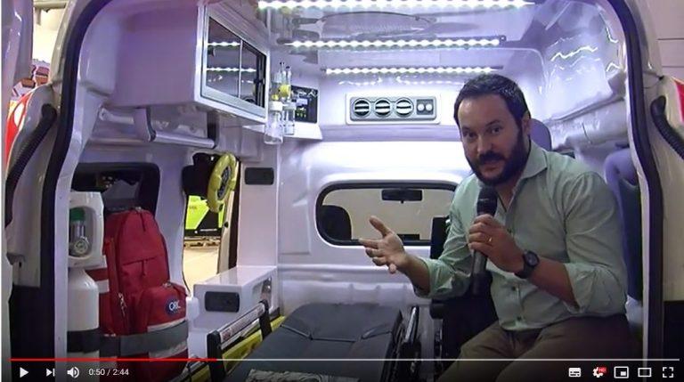 Fiat Doblò per trasporto sanitario