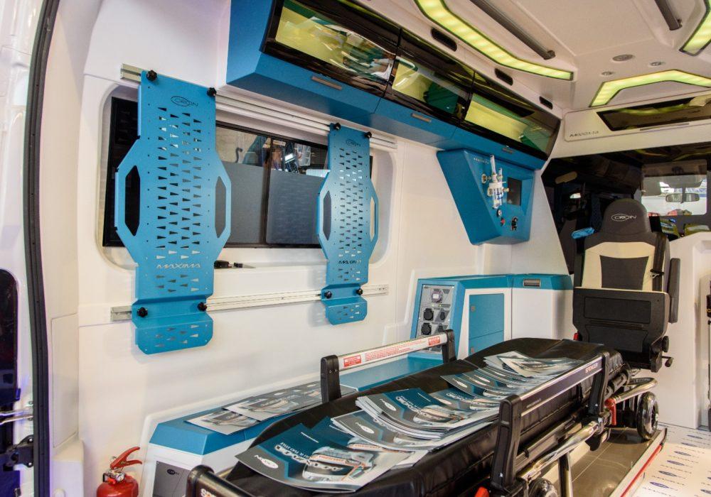 Ambulanza del futuro: Orion presenta MAXIMA, una rivoluzione di spazio e stile