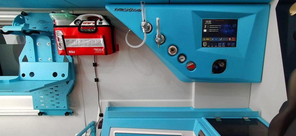 ambulanza-allestimento-Maxima-Orion-centralina