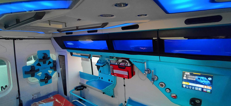 ambulanza-allestimento-Maxima-Orion-soffitto