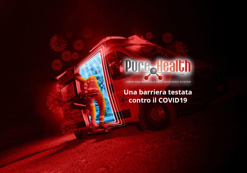 PureHealth: una barriera contro il Covid19